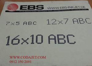 چاپ با دستگاه EBS
